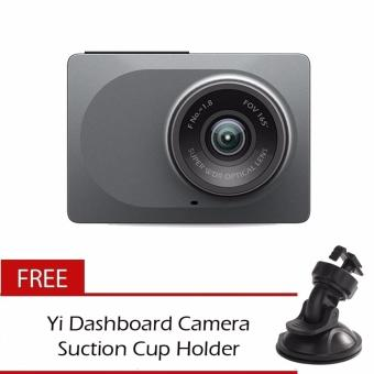 Xiaomi Yi Smart Dash Camera English Version Car DVR Night Vision 1296P HD Free Extra Suction Mount