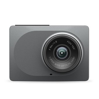 Xiaomi Yi Smart Dash Camera English Version Dashboard Car DVR Night Vision 1080P HD (Gray)