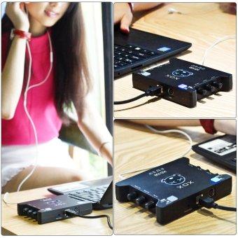 XOX KS108 USB Audio Interface Network Online Singing DeviceHigh-Definition Audio Mixer Sound Card - Intl - 4