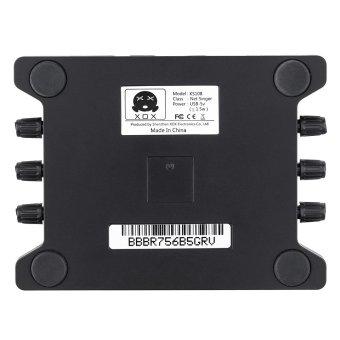 XOX KS108 USB Audio Interface Network Online Singing DeviceHigh-Definition Audio Mixer Sound Card - Intl - 2