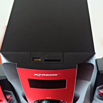 Xtreme XP-1900 Dynamic DUO 2.1 CH Multimedia Subwoofer Speaker - 2