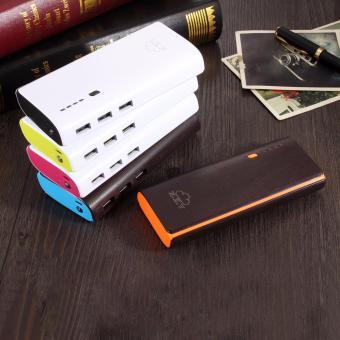 XZY 1041 20000mAh Power Bank Double USB (White/Maroon) - 3