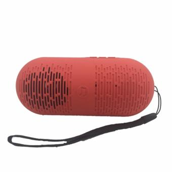 Y1 Super Bass Portable Bluetooth Speaker (Red)