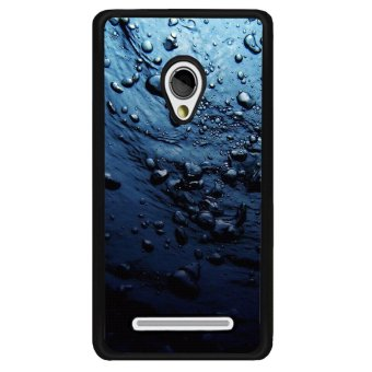 Y&M Asus Zenfone 5 Mobile Phone Case Blue Water Printed Cover (Multicolor)