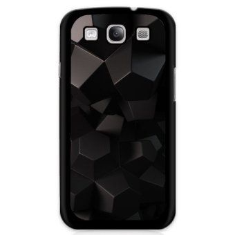 Y&M Black Geometric Samsung Galaxy S3 Phone Case (Multicolor)