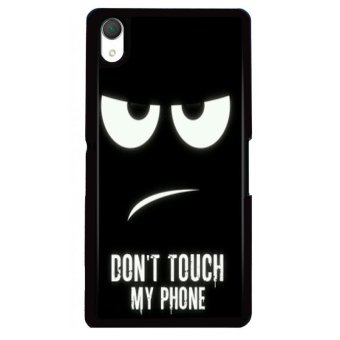 Y&M Don't Touch My Phone Sony Xperia M4 Phone Case (Multicolor) Price Philippines