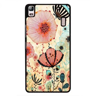 Y&M Specail Floral Painting Cell Phone Cover For Lenovo A7000(Multicolor)