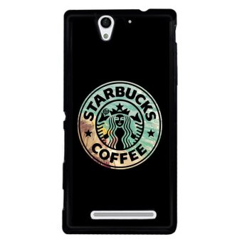 Y&M Starbucks Coffee Sign Sony Xperia C3 Phone Cover (Multicolor)