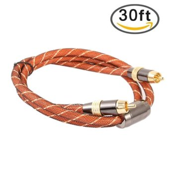 YBC 10M Digital Coaxial Audio /Video RCA Cable Cord Coax Gold - intl Price Philippines