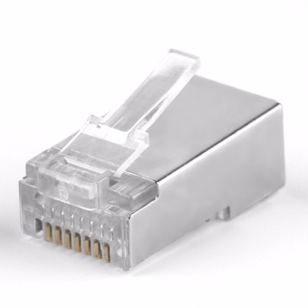 YBC 50pcs RJ45 Cat6 Network Connectors Plug Terminals for Modem Cable - intl