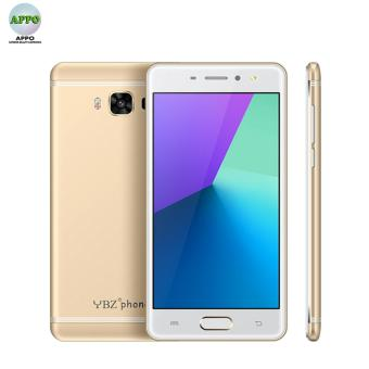 YBZ Q3 Series Android Touch Screen Dual Core 512MB RAM 8GB ROM 5MP Camera Dual SIM Smart Phone (GOLD)