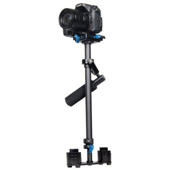 YELANGU S60T 60cm Carbon Fiber Handheld Stabilizer for DSLR CameraDV (Black) Price Philippines