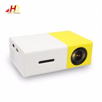 YG300 YG-300 Portable Projector LCD Mini Portable 400 - 600LM 1080PLED Projector Home Cinema Theater USB SD HDMI - 2