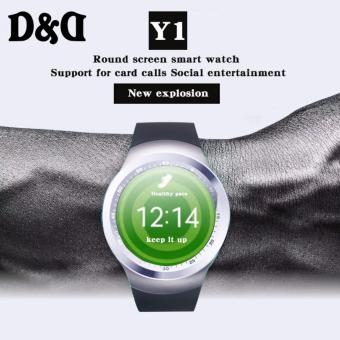 YI-01 Smart Watch Clock With Sim TF Card Slot Bluetooth (Black) Price Philippines
