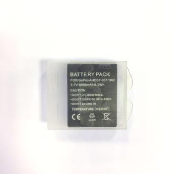 Yicoe 5 Pcs Battery Case Plastic Transparent Hard Battery CaseHolder Storage Box for Go Pro Hero Session 5 SJ4000 Xiao yi 4kcamera - 3