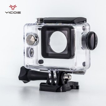 YICOE Diving Waterproof Case Charger Shell With USB Cable for SJCAMSJ4000 WiFi Motorcycle Sj7000 EKEN H9 4k Action Sport CameraAccessories - intl Price Philippines