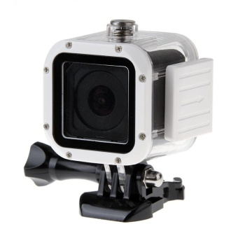 Yicoe For Gopro Hero 4 Session 45M Underwater Waterproof HousingProtective Case with Square Lens Frame for Go Pro Hero 4 Session -intl