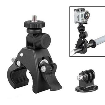 YICOE Quick Clip Bicycle Bike Mount with Tripod Adaptor for Go pro5 4 3 Xiaomi Yi 4k SJCAM SJ4000 EKEN H9 Action Sport CameraAccessories