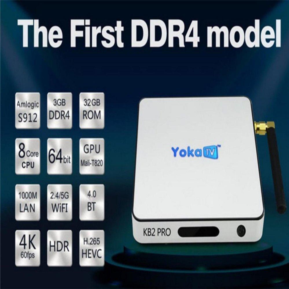 Philippines Yokatv Kb2 Pro 3gb 32gb Ddr4 Android 60 Tv Box H96 Plus S912 Octacore Amlogic