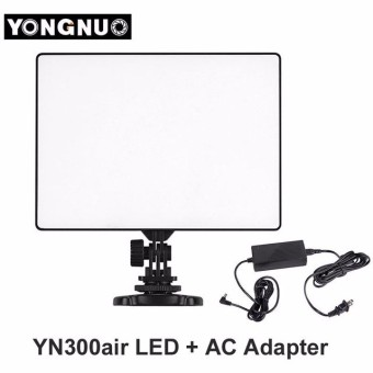 YONGNUO YN300 YN-300 Air LED Camera Video Light with AdjustableColor Temperature 3200K-5500K for Canon Nikon Pentax OlympasSamsung