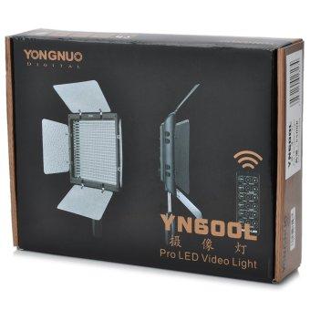 YongNuo YN600 Video Light w/ Filters Black - intl - 4