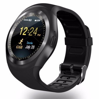Young Young Star Y1 Round Bluetooth 3.0 Wearable Smart watch Men Women Classical Business Smartwatch for Android - intl