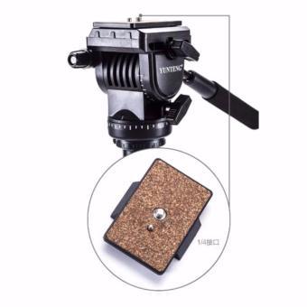 Yunteng VCT-558 Camera Tripod Monopod Unipod + 360 degree Fluid PanHead for Canon Nikon Sony Olympus DSLR - 3
