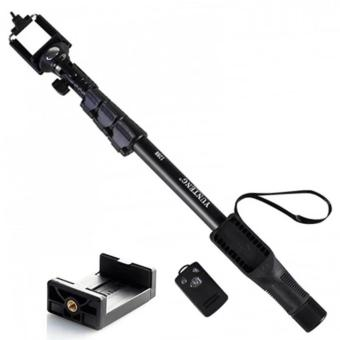 Yunteng YT-1288 Bluetooth Selfie Monopod Extendable Handheld Polewith Shutter Remote Control (Black)