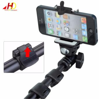 YunTeng YT-188 Universal Monopod for Mobile Phones and Sports Cameras (Black) with FREE Action Camera Floater (Black) - 3
