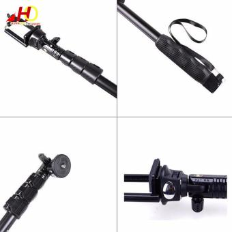 YunTeng YT-188 Universal Monopod for Mobile Phones and Sports Cameras (Black) with FREE Action Camera Floater (Black) - 5