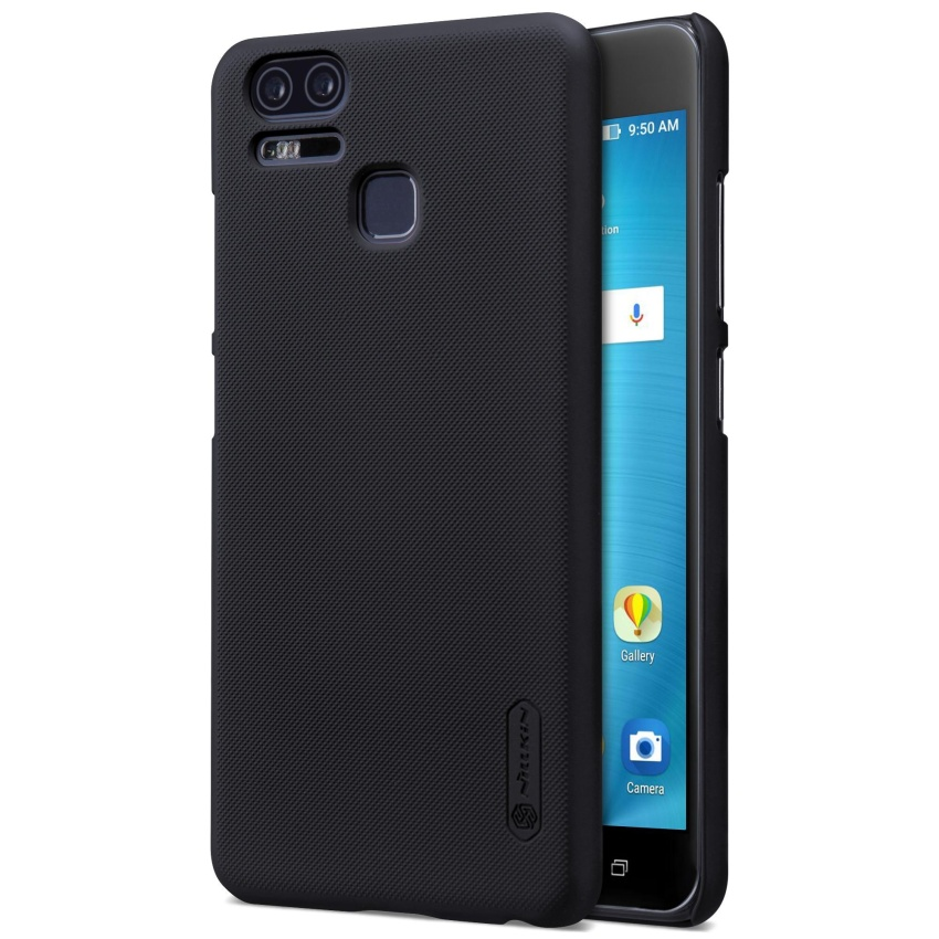 ZE553KL Case Nillkin Super Frosted Back Cover Case with ScreenProtector for Asus Zenfone 3 Zoom ZE553KL - intl