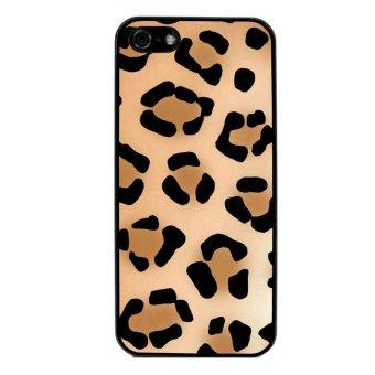 Zebra Print Pattern Phone Case for iPhone 5C (Black)
