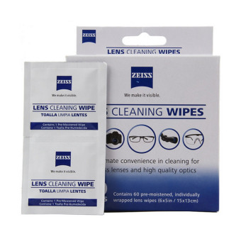 Zeiss Pre-Moistened Lens Screen Optical Camera Cleaning Cloth Wipes60Pcs In Box - 2