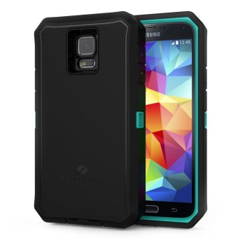ZeroLemon ZeroShock Rugged Case for Samsung Galaxy S5 (Green/Black)