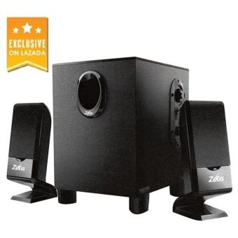 Zeus A-120 2.1 Multimedia Speakers (BLACK)