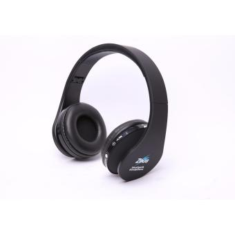 Zeus Z-300 Foldable bluetooth wireless/wired 2in1 headphone withbuilt-in Microphone(BLack)