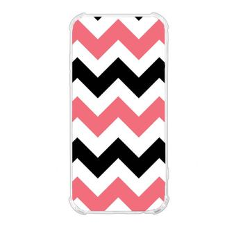 Zigzag Stripe Design TPU Back Cover Case for Huawei Y6