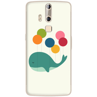 ZTE a2015 silicone transparent deer phone case