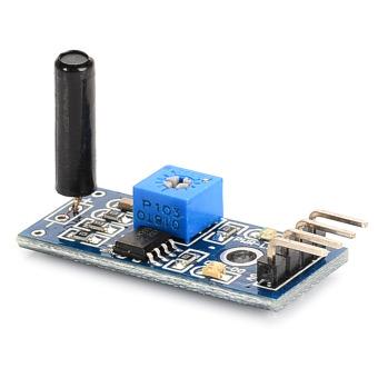 ZUNCLE High Sensitivity Alarm Vibration Sensor Module(Blue + Black)