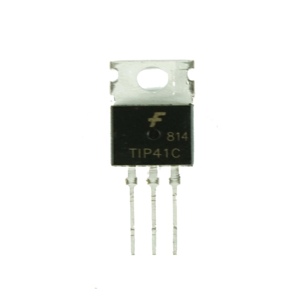 10pcs TIP41C TIP41 TO-220 Power Transistor NPN 100V 6A 65W
