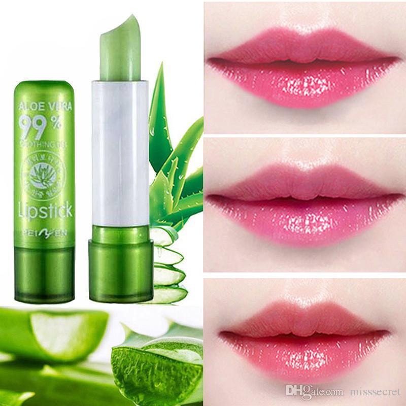 MJ SUGAR Aloe Vera Long Lasting Moisturizing Lipstick Tint Aloe Gel