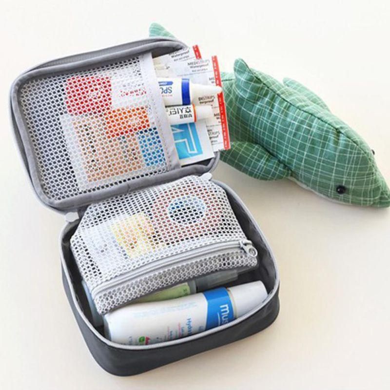 Mini Outdoor First Aid Kit Bag Portable First Aid Emergency Medical Kit  Survival Bag Medicine Storage Bag For Travel Outdoor Sports Camping Home
