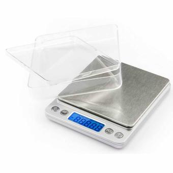 0.001oz/0.01gram 500g Precise Kitchen Scale Small Digital Electronic Weighing Scale for Baking food and Jewelry - intl