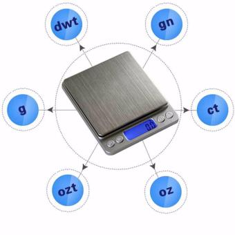 0.01oz/0.1gram 3000g Precise Kitchen Scale Small Digital Electronic Weighing Scale for Baking food and Jewelry - intl - 5