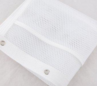 1 Mesh Bath Shower Organizer Bathroom Storage Caddy Soap ShampooToiletry  Hang With 4 Hooks   2 ...