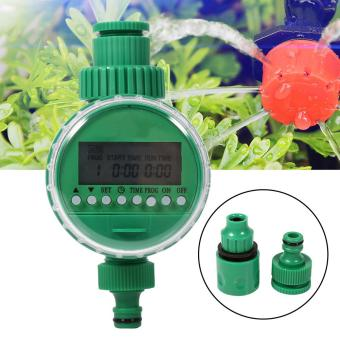 1 Set 20m Auto Timer Plant Self Watering Drip Irrigation System Kits - intl