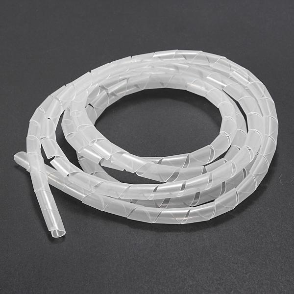 10 meters Spiral Tube Flexible Cord PC Home Cinema Cable Wire ...