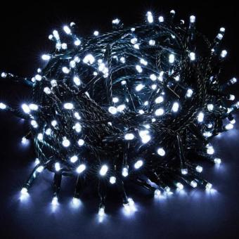 100 LED String Green Wire Christmas X-mas light Mabuhay Star ICC Compliant