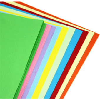 100 Sheets 10 Mixing Color A4 Colored Origami Paper - intl - 5