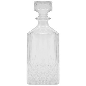 1000ml European Style Square Clear Glass DIY Wine Beer WhiskyDecanter Drink Water Juice Tea Milk Jug Pitcher Bottle with Lid -intl Price Philippines